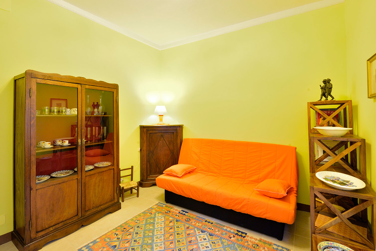 Apartments In Montepulciano Livingroom